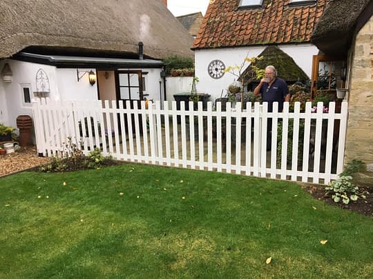 Picket Fence installed in Polebrook