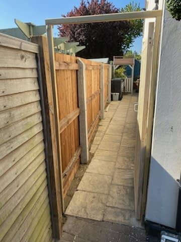 Straight Through Featheredge installed in Werrington Peterborough