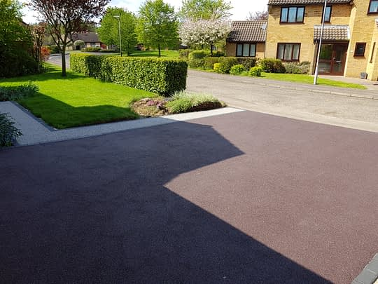 Resin Bound Driveway in Orton Wistow