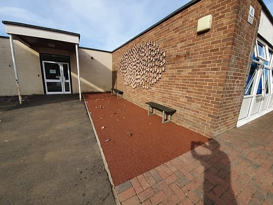Small Resin Bound Area for School in Westwood Peterborough