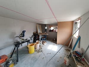 Plaster Boarding Garage Conversion Peterborough