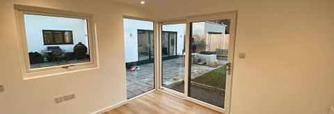 Inside Garden Room in Ketton