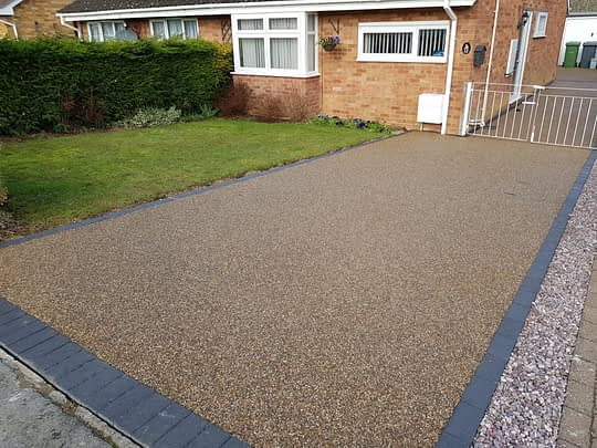 Resin Bound Overlay in Thorney Peterborough