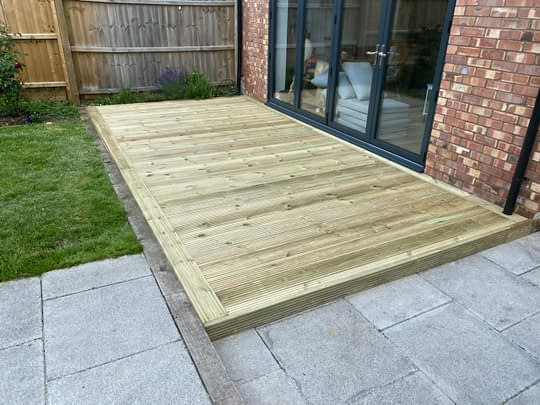 Decking Installed in Peterborough