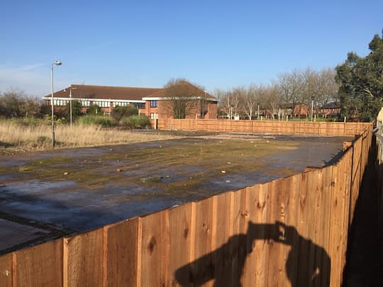 Commercial Fencing for Tesco in Werrington