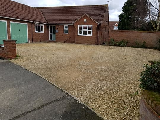 Old Gravel Driveway in Langtoft
