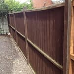 Damaged Fence Panels in Oakham