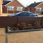 UPVC Fencing Installed in Peterborough