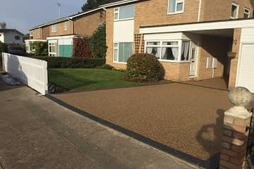 Resin Bound Driveway installed in Loder Avenue Bretton