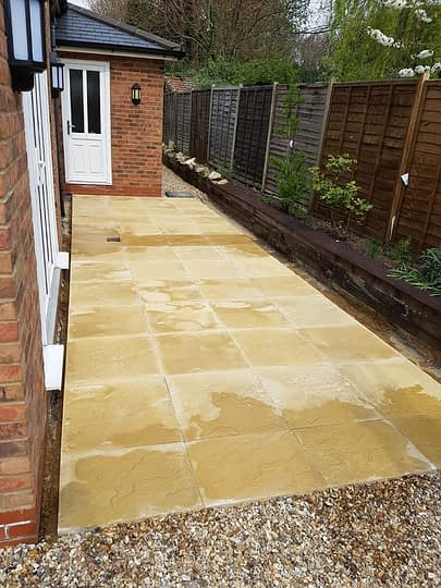 Basic Patio Installation in Peterborough