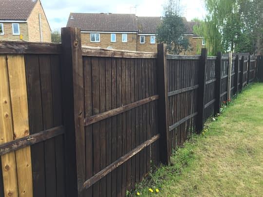 Old Damaged Fencing