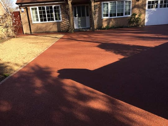 Resin Bound Install in Glinton