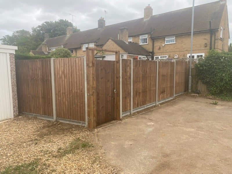 Fencing installed in Wittering
