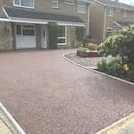 Finished Resin Bound Driveway